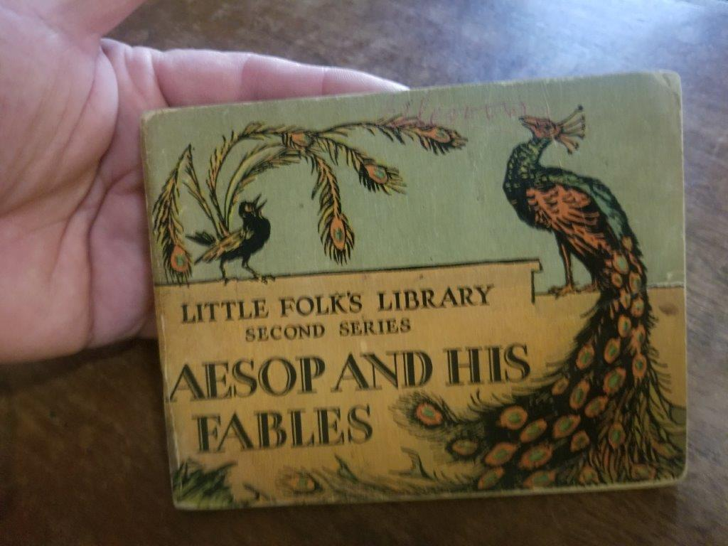 Image for Aesop and His Fables (Little Folk's Library Second Series)