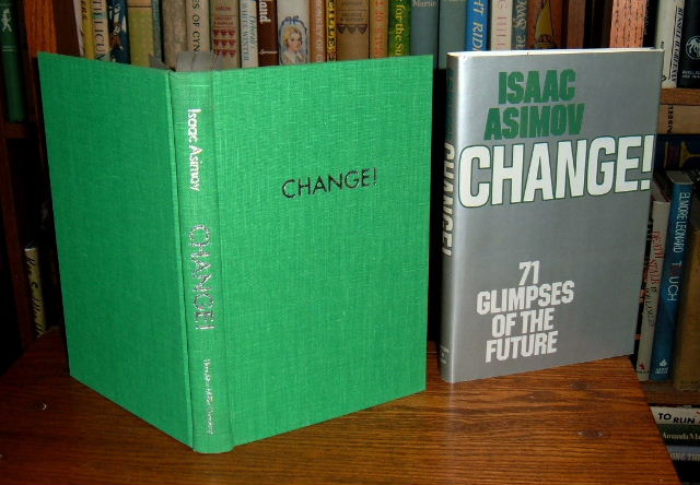Image for Change! 71 Glimpses of the Future