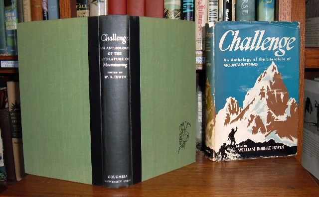 Image for Challenge: An Anthology of the Literature of Mountaineering