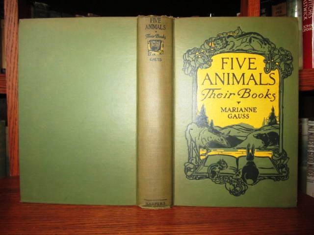 Image for Five Animals - Their Books