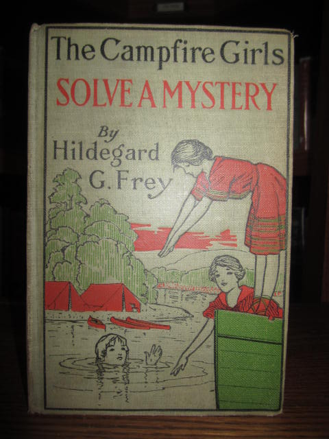 Image for The Campfire Girls Solve a Mystery - Or, The Christmas Adventure at Carver House