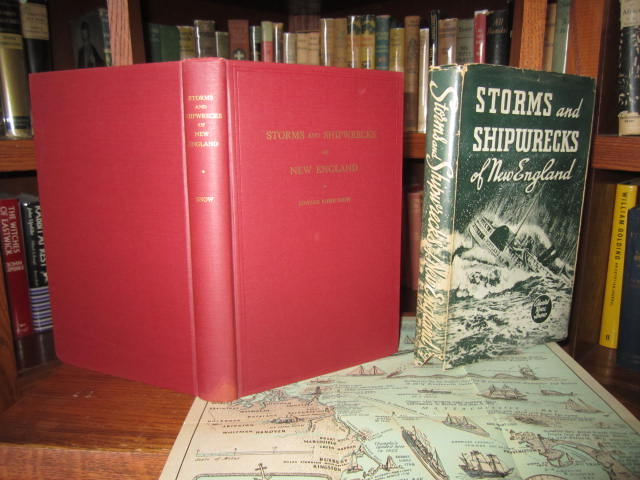 Image for Great Storms and Famous Shipwrecks of the New England Coast