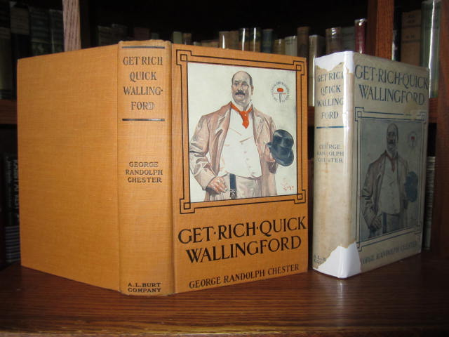 Image for Get-Rich-Quick Wallingford _ A cheerful account of the rise and fall of an American Business Bucaneer