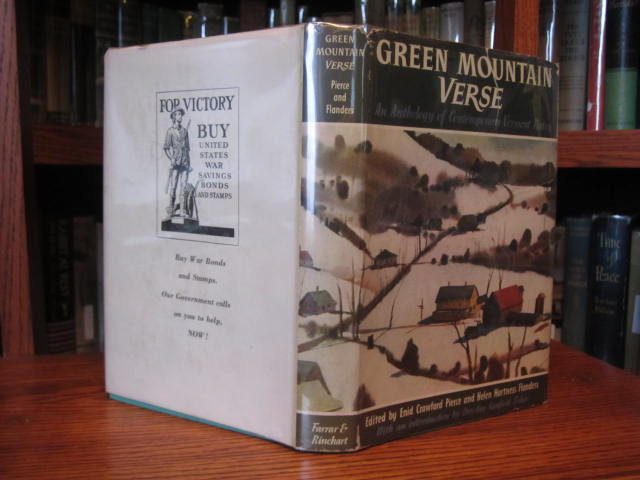 Image for Green Mountain Verse - An Anthology of Contemporary Vermont Poetry