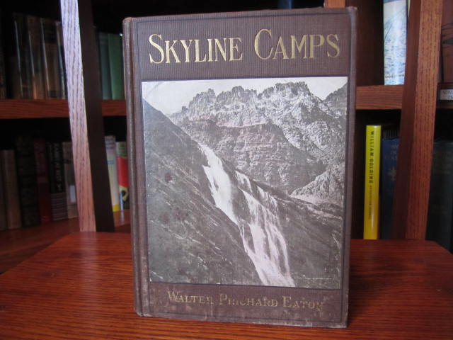 Image for Skyline Camps - A Note Book of a Wanderer in Our Northwestern Mountains