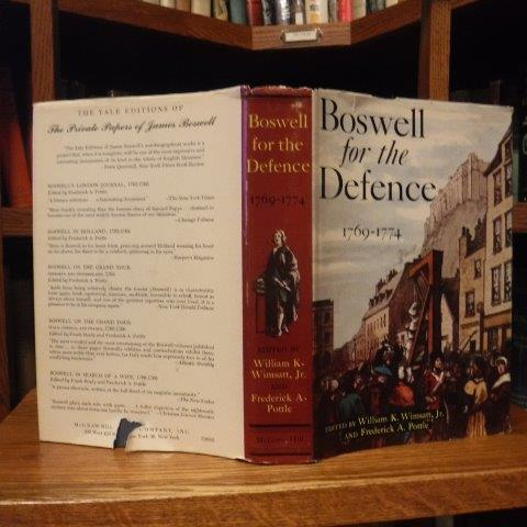 Image for Boswell for the Defence 1769-1774