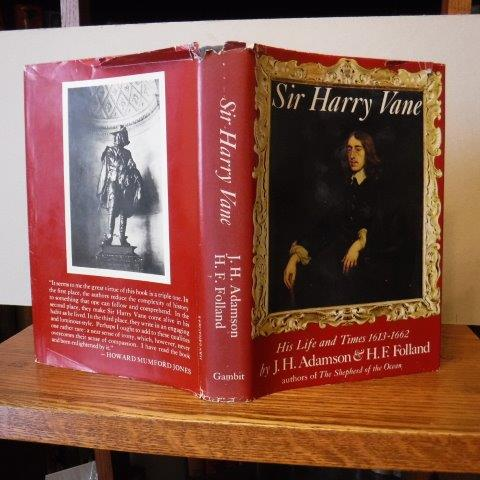 Image for Sir Harry Vane - His Life and Times (1613-1662)