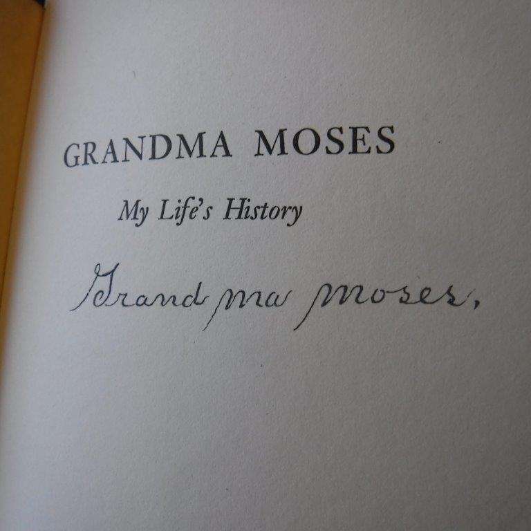 Image for Grandma Moses - My Life's History