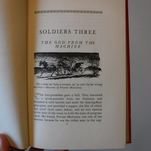 Image for Soldiers Three & Other Stories