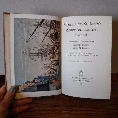 Image for Moreau de St. Mery's American Journey 1793-1798