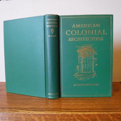 Image for American Colonial Architecture - Its Origin & Development