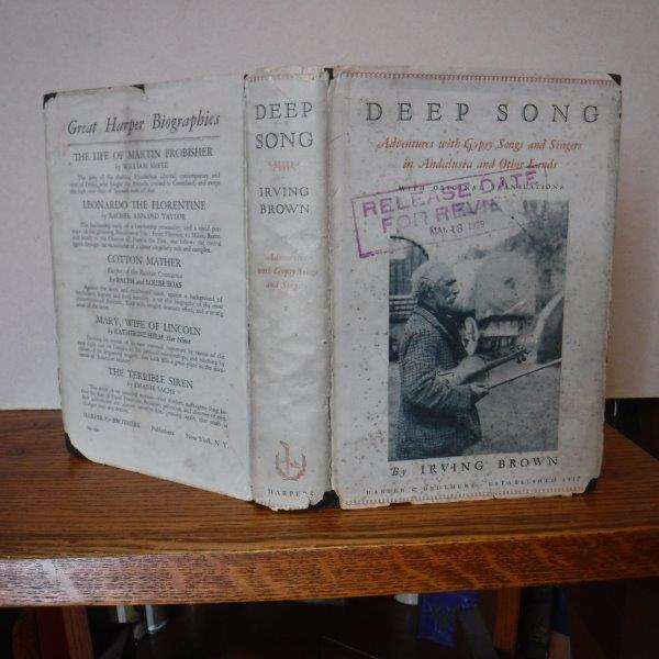 Image for Deep Song - Adventures with Gypsy Songs and Singers in Andalusia and Other Lands