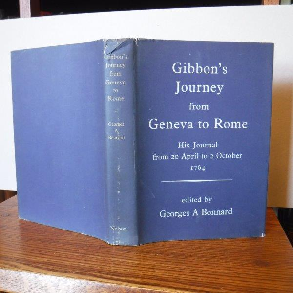 Image for Gibbon's Journey from Geneva to Rome - His Journal from 20 April to 2 October 1764