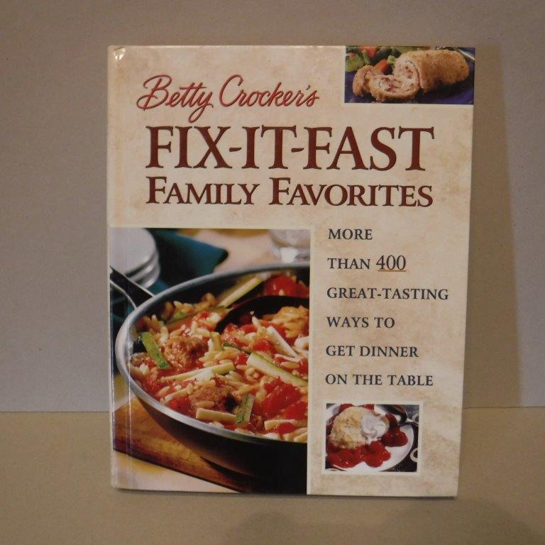 Image for Betty Crocker's Fix-it-Fast Family Favorites