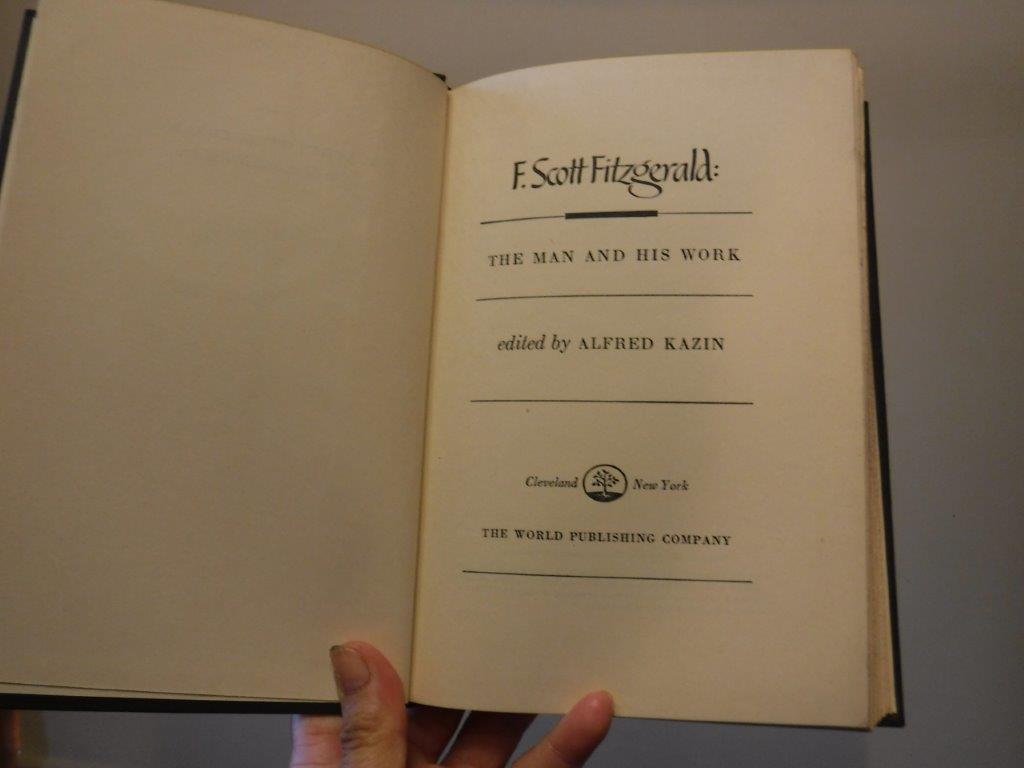 Image for F. Scott Fitzgerald: The Man and His Work