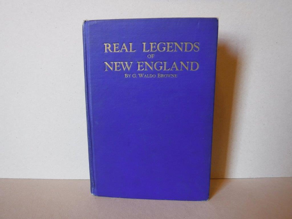 Image for Real Legends of New England