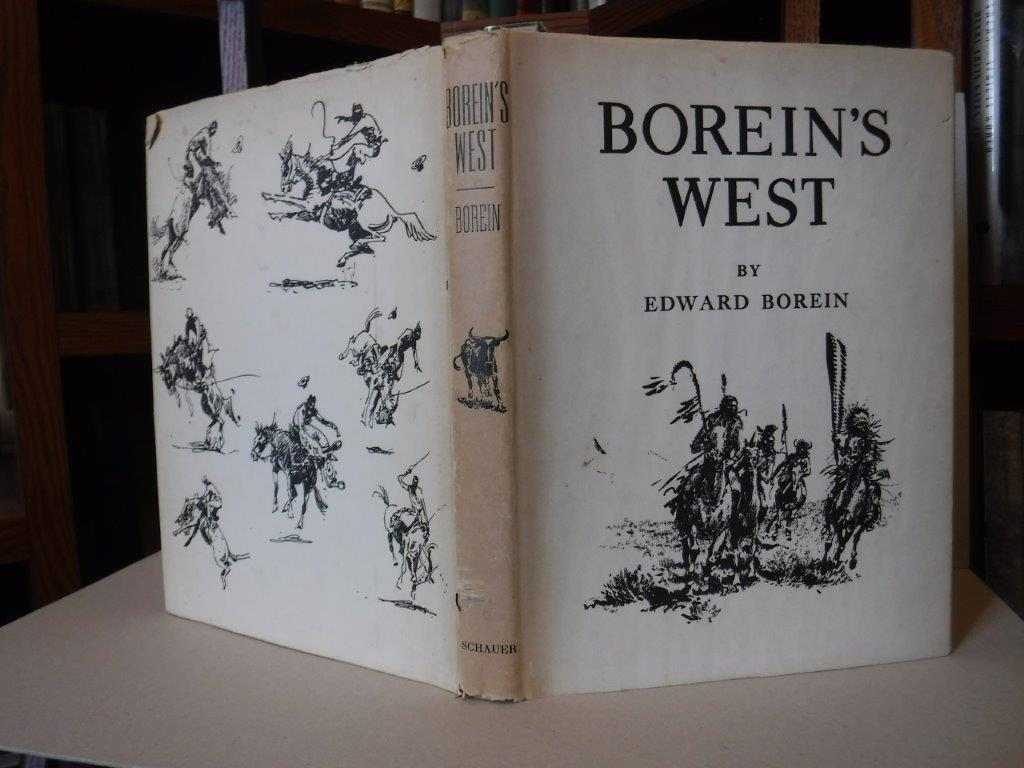 Image for Borein's West: Leaves from the Sketchbook of the last Artist of the Longhorn Era