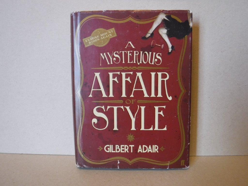 Image for A Mysterious Affair of Style (Evadne Mount Trilogy)