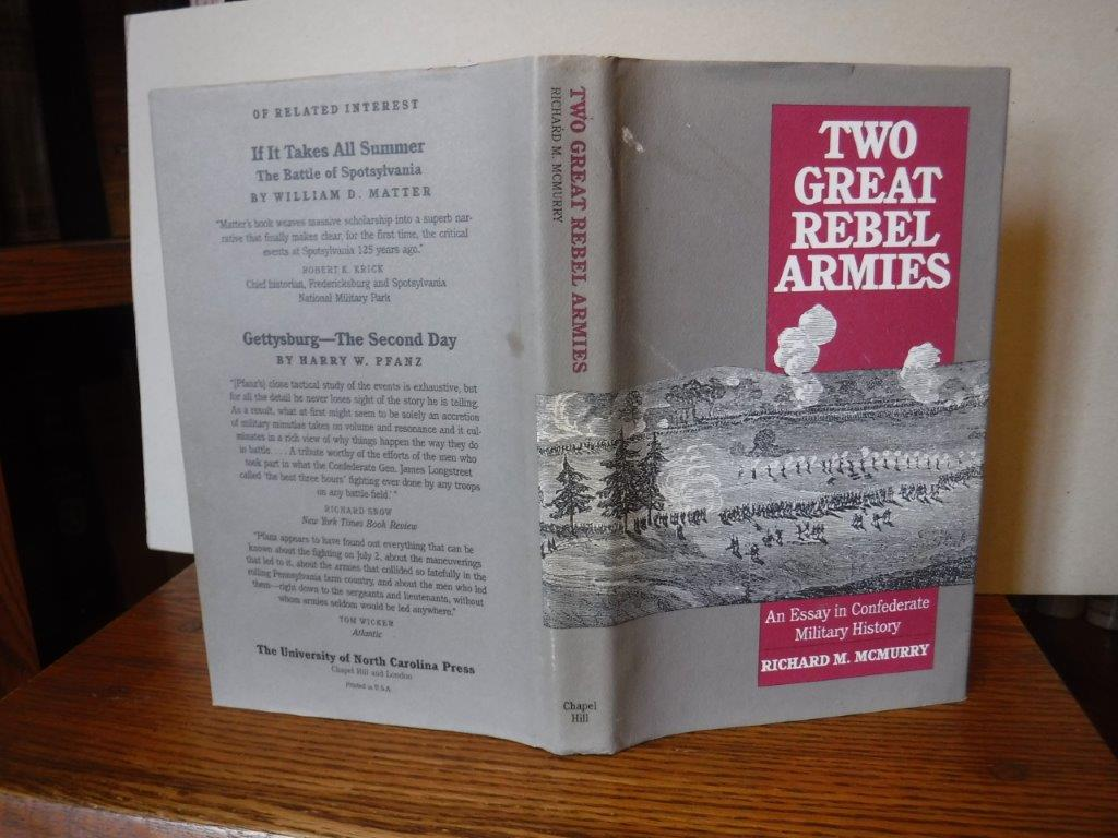 Image for Two Great Rebel Armies: an Essay in Confederate Military History
