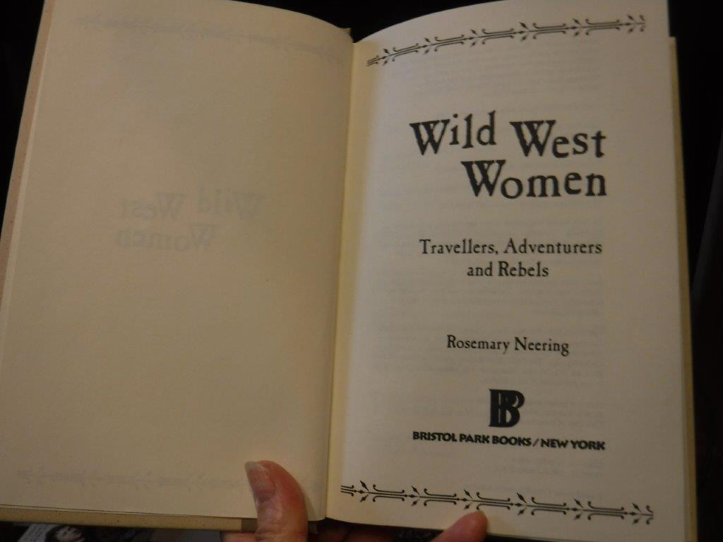 Image for Wild West Women - Travellers, Adventurers and Rebels