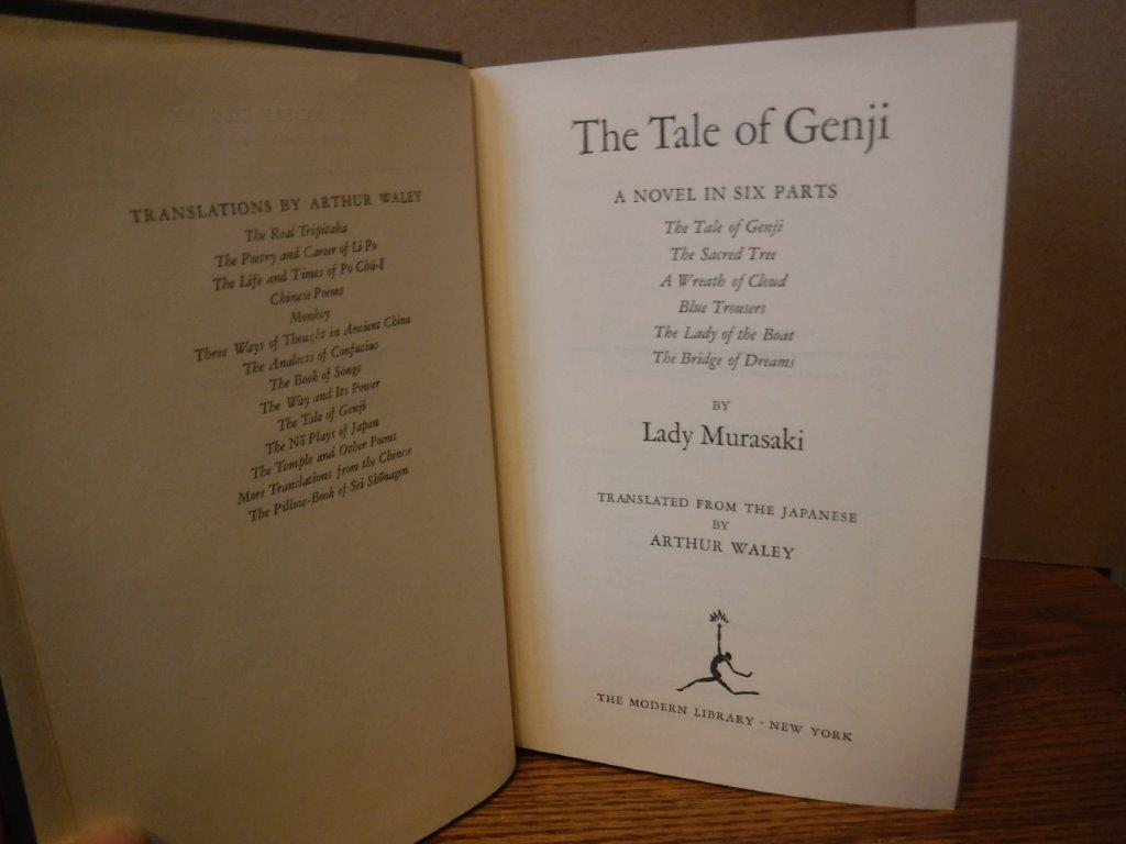 Image for The Tale of Genji - A Novel in Six Parts (Complete and Unabridged)