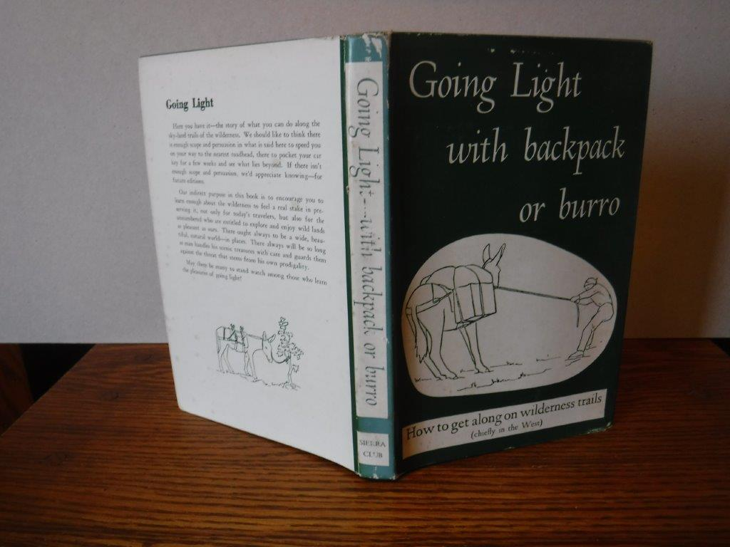 Image for Going Light with Backpack or Burro
